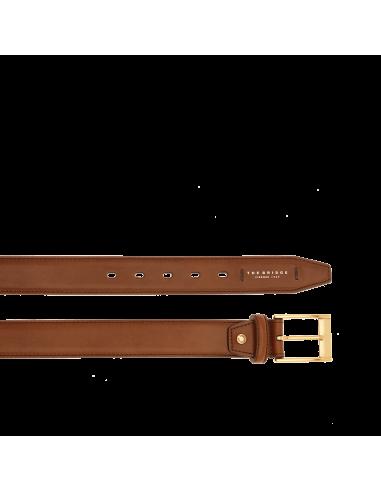 5da9fcc9b3 Cintura uomo della collezione Passpartout di The Bridge, realizzata nello  splendido cuoio simbolo di qualità e tradizione della casa madre.