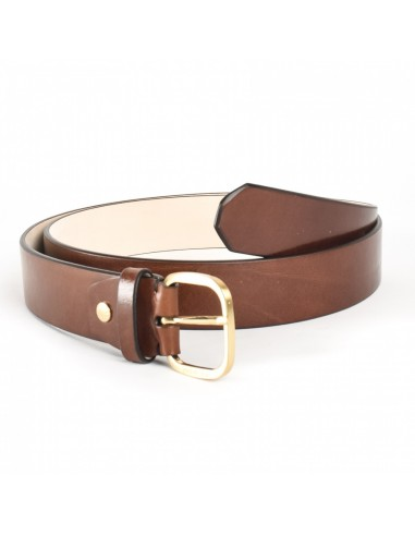 337484c87c Cintura della collezione Capalbio di The Bridge,realizzata in pelle  naturale conciata al vegetale