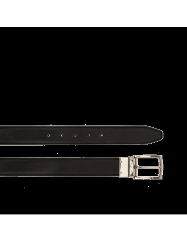 73c4985688 Cintura doubleface della collezione Story di the Bridge,realizzata nel  classico cuoio simbolo di qualità e tradizione della casa madre.