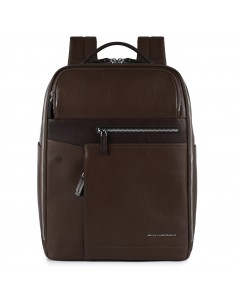 Piquadro Cary leather backpack