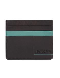 Samsonite collezione Outline 2 portacarte di credito in pelle