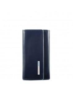 Piquadro collezione Blue Square portachiavi in pelle