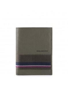Piquadro collezione Black Square S portafogli uomo verticale in pelle