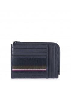 Piquadro collezione Black Square S portadocumenti tascabile in pelle