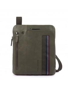 Piquadro collezione Black Square S borsello porta Ipad in pelle