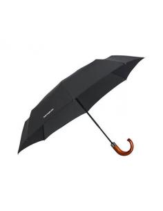 Samsonite collezione Wood Classic  ombrello corto manico curvo
