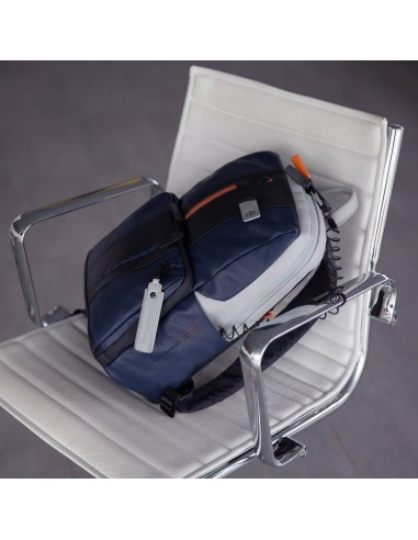Laptop Backpack Unisex Piquadro Brief CA3214BR//N fabric rucksack professional