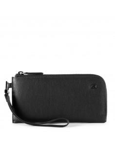 Piquadro collezione Black Square Pochette portafogli sottile per smartphone