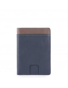 Piquadro collezione Vanguard portacarte di credito in pelle