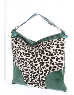 Gabs Rachele Tg L Cavallino Leopardo + Luna Black