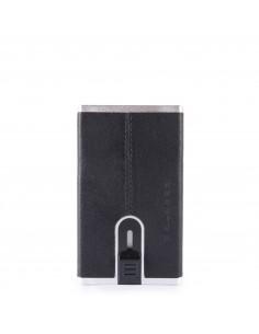 Piquadro collezione Black Square portacarte di credito con sliding system