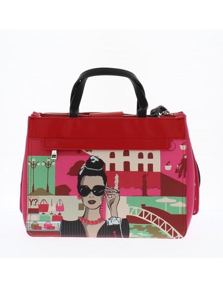 YNot BORSA 2 MANICI red Handtasche
