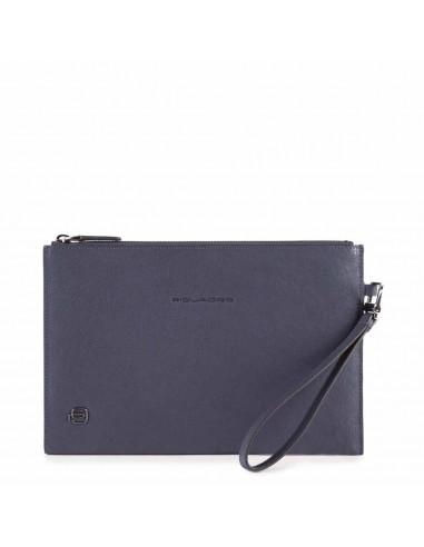 Leather clutch bag B3