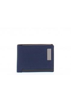 Men's wallet in recycled...