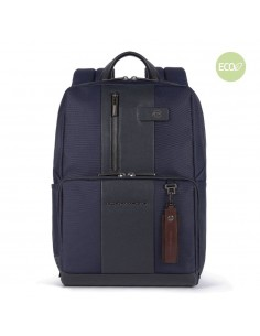 Laptop backpack in recycled...
