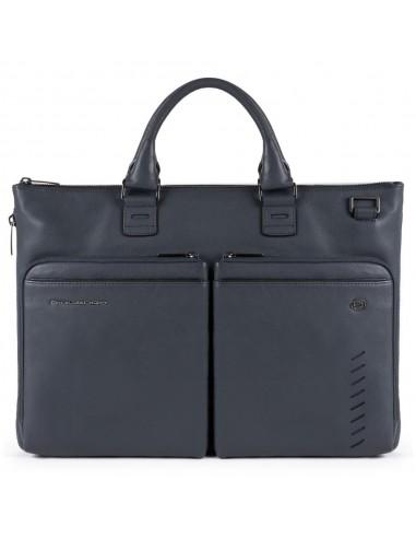 Expandable, slim laptop bag Nabucco