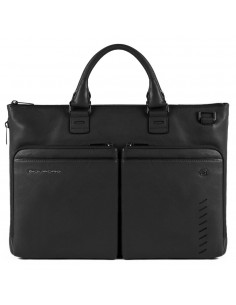 Expandable, slim laptop bag...