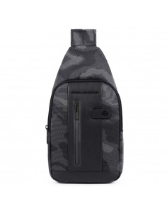 Mono sling bag in recycled...