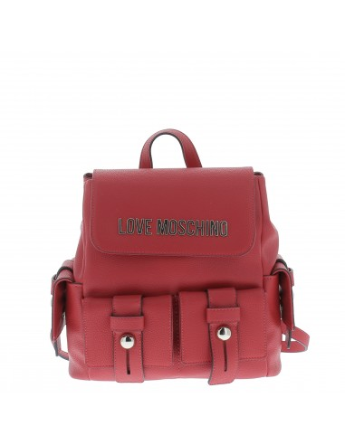 Love Moschino Women's backpack with pockets red