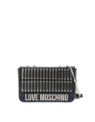 Love Moschino leather shoulder bag black