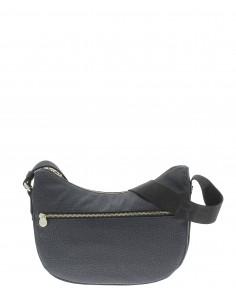 Borbonese luna bag small black 934107I15