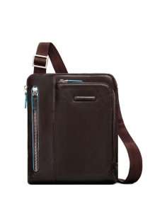 Piquadro Men's bag with Ipad® compartment blue square brown