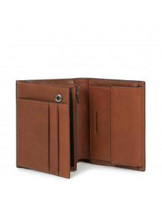 Vertical Men's wallet with...