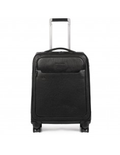 Cabin size leather trolley B3