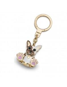 Braccialini Dog metal keychain