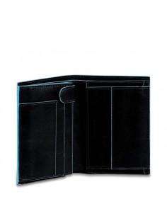 Piquadro collezione Blue Square portafogli uomo verticale in pelle