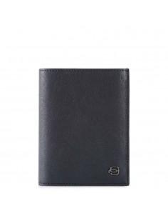 Piquadro collezione Black Square portafogli uomo verticale in pelle
