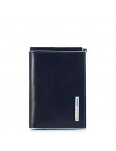 Piquadro collezione Blue Square portabanconote in pelle