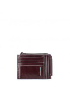 Piquadro collezione Blue Square portadocumenti tascabile in pelle