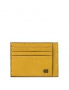 Piquadro collezione Black Square portacarte di credito in pelle
